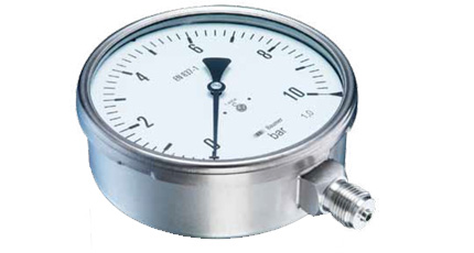 BAUMER BOURDON MIX7 / MIM7 Industrial Pressure Gauge