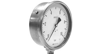 BAUMER BOURDON MJX7 - MMJ7 Safety Pressure Gauge