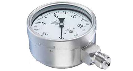 BAUMER BOURDON MMN5 / MEP5 Solid Front Safety Pressure Gauge