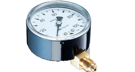 BAUMER BOURDON MTA2 - MTA3 Industrial Capsule Pressure Gauge