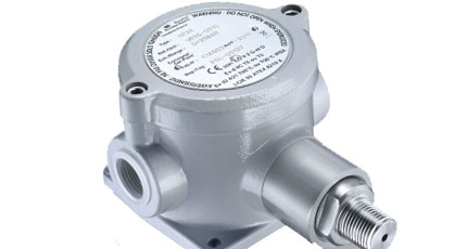 BAUMER BOURDON RP2E Compact Pressure Switch Intrinsic Safety