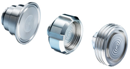 BAUMER Diaphragm seals for hygienic applications (DAXX)