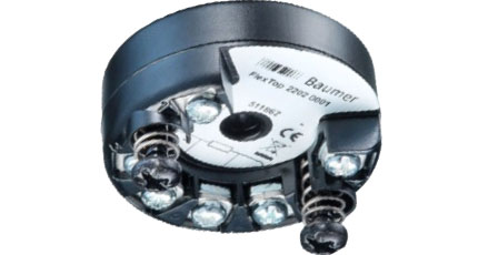 BAUMER FlexTop 2202 Temperature Transmitter