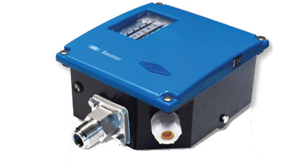 Pressure BAUMER BOURDON RPPN Industrial Pressure Switch