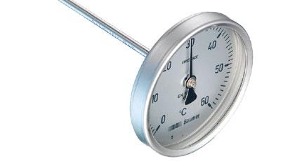 BAUMER BOURDON Bimetal Thermometer (TB40 + TB63 Series)