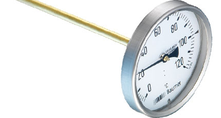 BAUMER BOURDON Bimetal Thermometer (TB80 + TB100 + TB160 Series)