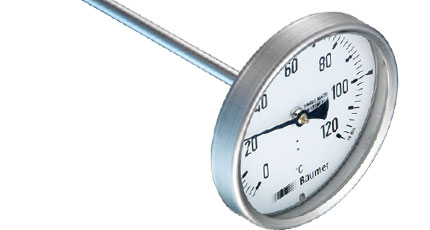 BAUMER BOURDON Stainless Steel Bimetal Thermometer (TBI Series)