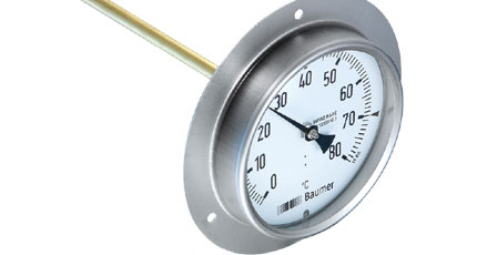 BAUMER BOURDON Bimetal Thermometer for Air Ducts (TBL Series)